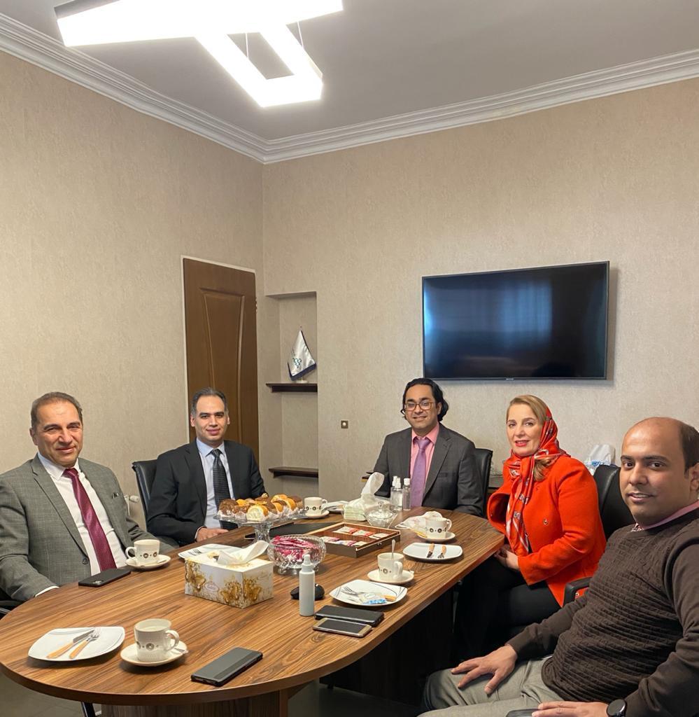 بازدید هیئتمدیره گروه شرکتهای شماران سیستم از شرکت آروین سیستم (نمایندگی خدمات پس از فروش شماران )